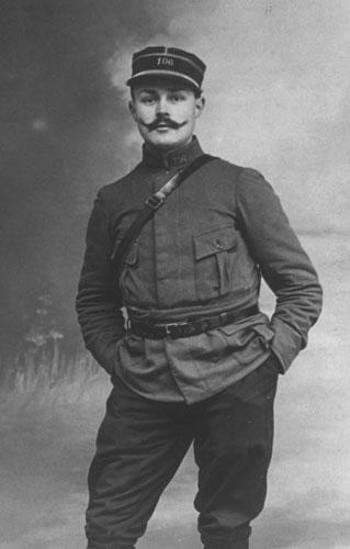 Portrait de Maurice Genevoix