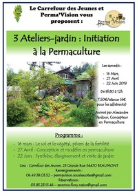 ATELIER JARDIN : INITIATION À LA PERMACULTURE
