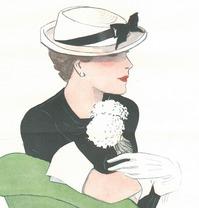EXPOSITION 'UNE ÉLÉGANTE À NEW YORK DANS LES ANNÉES 1930'