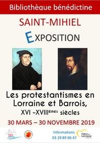 EXPOSITION 'LES PROTESTANTISMES EN LORRAINE ET BARROIS, XVI -XVIIIÈMES SIÈCLES'