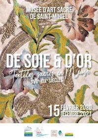 EXPOSITION 'DE SOIE ET D'OR'