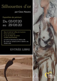 EXPOSITION 'SILHOUETTES D'OR'