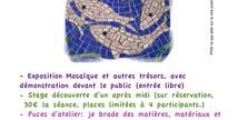 MOSAÏQUES ET AUTRES TRESORS AU JARDIN TERRE DE REVES - Saint-Mihiel