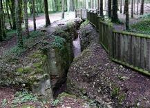 TRANCHEES DE BOIS BRULE ET CROIX DES REDOUTES - Apremont-la-Forêt