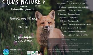 CLUB NATURE AU CPIE - Bonzée