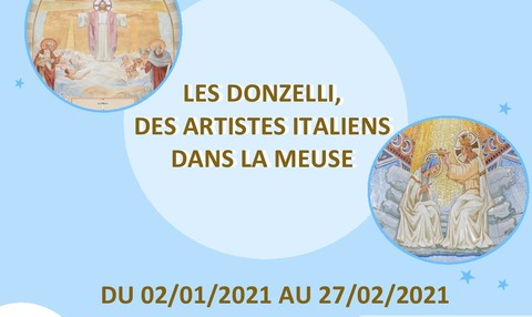 EXPOSITION 'LES DONZELLI, DES ARTISTES ITALIENS DANS LA MEUSE'