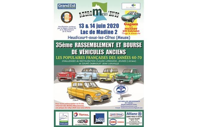 RETRO MEUS'AUTO - ANNULE 1 - Heudicourt-sous-les-Côtes