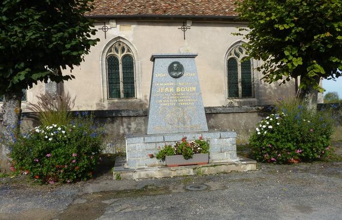 STÈLE DE JEAN BOUIN 1 - Bouconville-sur-Madt