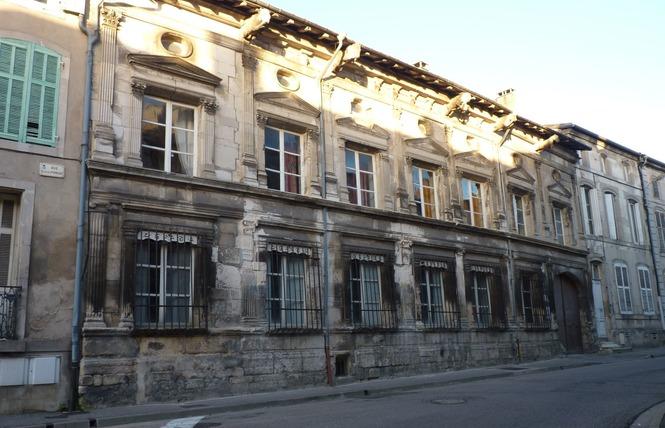 FAÇADE REMARQUABLE : HOTEL DE FAILLONNET 1 - Saint-Mihiel