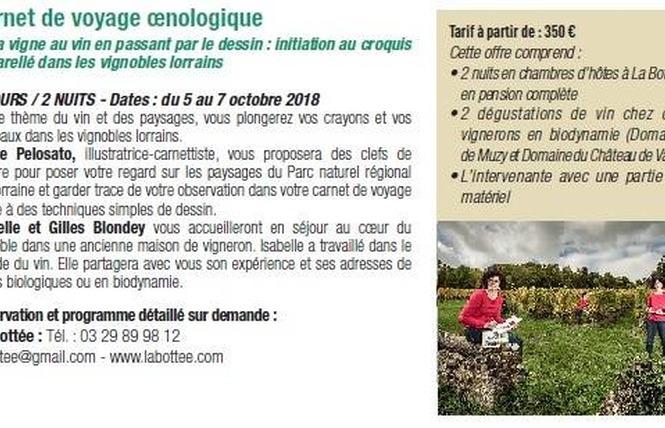 CARNET DE VOYAGE OENOLOGIQUE 2 - Vigneulles-lès-Hattonchâtel
