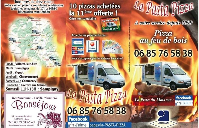 LA PASTA PIZZA 2 - Lacroix-sur-Meuse