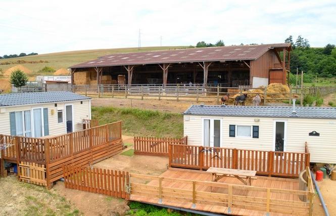 MOBILE HOME 4 PLACES FERME DE WOIMBEY 1 - Woimbey