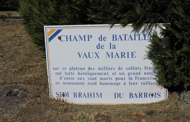 MONUMENTS DE LA BATAILLE DE VAUX MARIE 3 - Rembercourt-Sommaisne